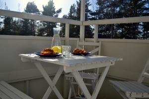 Lunch på balkongen